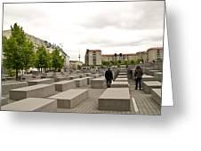 Holocaust Memorial - Berlin Greeting Card