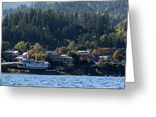 Home Sweet Kaslo Greeting Card