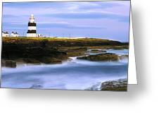 Hook Head Lighthouse, Co Wexford Greeting Card