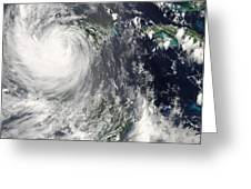 Hurricane Dean Greeting Card
