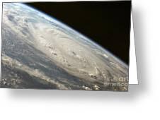 Hurricane Felix Greeting Card