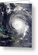 Hurricane Isabel Greeting Card