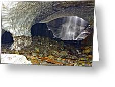 Ice Caves Greeting Card