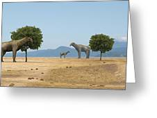 Indricotherium Greeting Card