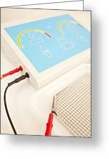 Iontophoresis Equipment Greeting Card