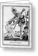 Iroquois Warrior Greeting Card