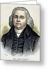 Isaac Backus (1724-1806) Greeting Card