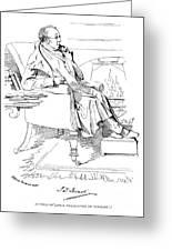 Isaac Disraeli (1766-1848) Greeting Card
