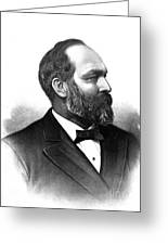 James A. Garfield, 20th American Greeting Card