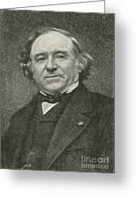 Jean Baptiste Dumas, French Chemist Greeting Card