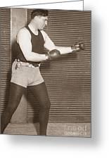 Jess Willard (1883-1968) Greeting Card