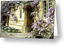 Jesus College Greeting Card