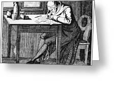 Johann Kaspar Lavater Greeting Card