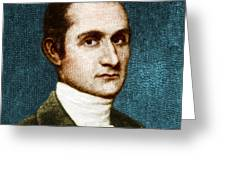 John Jay, American Founding Father Greeting Card