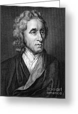 John Locke, English Philosopher, Father Greeting Card