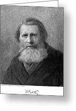 John Ruskin (1819-1900) Greeting Card