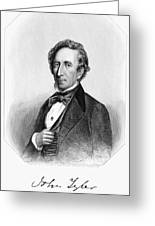 John Tyler (1790-1862) Greeting Card
