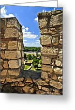 Kalemegdan Fortress In Belgrade Greeting Card