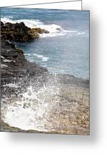 Kauai Spray Greeting Card