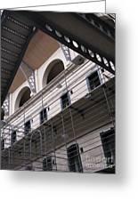 Kilmainham Gaol Greeting Card by Arlene Carmel