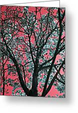 Kimono Pink Greeting Card