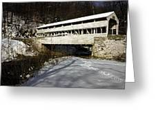 Knox Covered Bridge Greeting Card