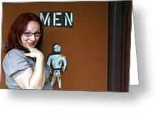 Ladies' Men's Greeting Card