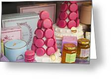 Laduree Macarons Greeting Card