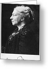 Lady Augusta Gregory Greeting Card