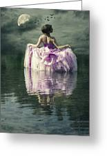 Lady In The Lake Greeting Card