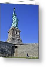 Lady Liberty 12 Greeting Card