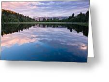 Lake Matheson Greeting Card