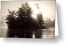 Lake Of The Woods, Ontario, Canada Greeting Card