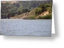 Lake Shabot Greeting Card