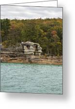 Lake Superior Pictured Rocks 49 Greeting Card