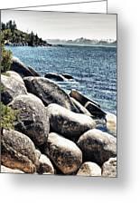 Lake Tahoe Vista Greeting Card