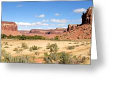 Land Of Many Canyons Greeting Card