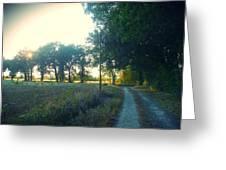 Landscape Near Mauvezin Greeting Card