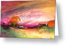 Late Afternoon 23 Greeting Card