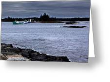 Late October In Blue Rocks Greeting Card