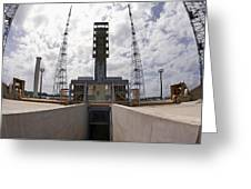 Launch Pad Assembly, Guiana Space Centre Greeting Card