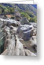 Lavertezzo - Ticino Greeting Card