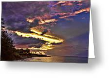 Layered Clouds Greeting Card