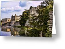 Leeds Castle Kent England Greeting Card