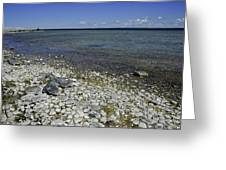 Leelanau Michigan Beach Greeting Card