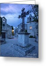 Les Baux Iron Cross Greeting Card