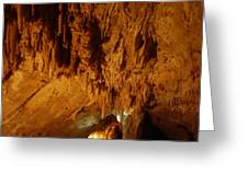Lewis And Clark Caverns Greeting Card