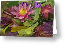 Lilies No. 33 Greeting Card by Anne Klar