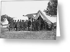 Lincoln & Mcclellan Greeting Card