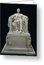 Lincoln Memorial: Statue Greeting Card